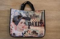 Tasche Paris blau